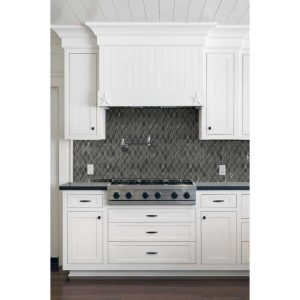 Allen + Roth® Home Décor Metal Twist 12-in x 12-in Metallic Stainless Steel Wave Mosaic | The Last Inventory