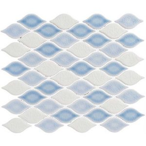 Glazzio Tiles Clouds Series Cumulus Sky CLD-493 Backsplash