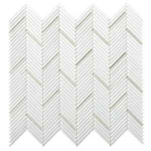 Emser Pivot 12-Pack Bend Glass Border Tile (Common: 11-in x 12-in; Actual: 10.43-in x 11.06-in)