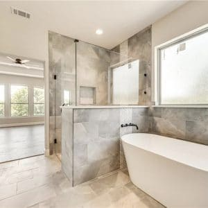 Keller, Texas | Porcelain Tile and Backsplash