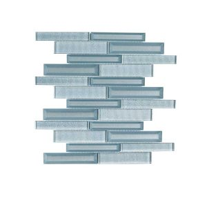 Jeffrey Court Lightbeam 10 in. x 11.875 in. x 8 mm Glass Mosaic Tile