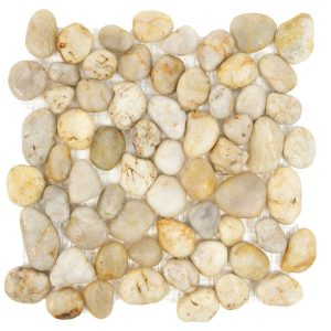 MSI White River Rock Mosaic Backsplash