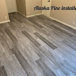 TLI World Collection, Alaskan Pine Installed