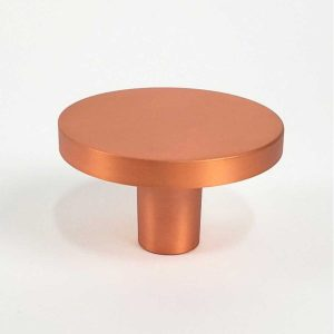 Century Hardware Builder's Choice Mid Century Brushed Copper Modern Classic 1-5/8-in Round Knob